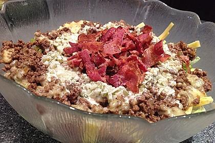 Big Mac Salat Low-Carb 10