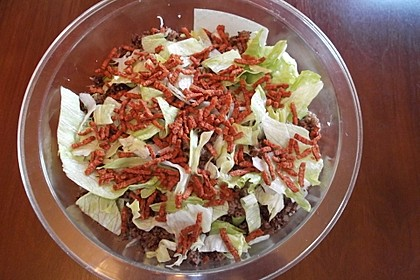 Big Mac Salat Low-Carb 28