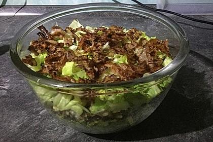 Big Mac Salat Low-Carb 12