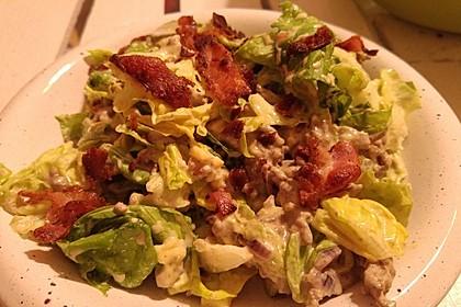 Big Mac Salat Low-Carb 15