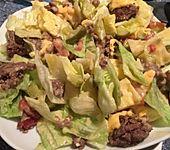 Big Mac Salat Low-Carb