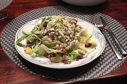 Big Mac Salat Low-Carb 13