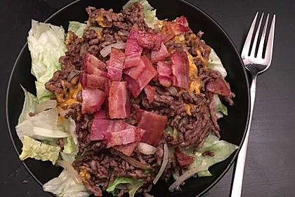 Big Mac Salat Low-Carb 30