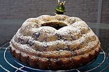 Gugelhupf kuchen mit schmand