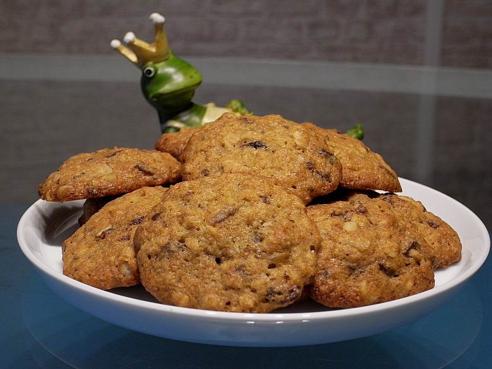 urmelis bananen haferflocken walnuss cookies von urmeli75. Black Bedroom Furniture Sets. Home Design Ideas