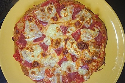 Thunfischpizza Low Carb 2