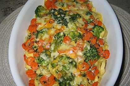 Tortellini-Auflauf mit Käse-Sahne-Soße 2
