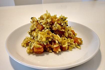 Curry-Gemüse-Reistopf (one pot)