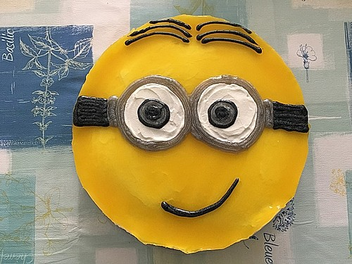 minion sahne aprikosen torte rezept mit bild von nanynana. Black Bedroom Furniture Sets. Home Design Ideas