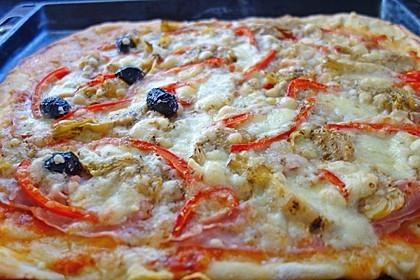 Pizzateig - schnell, einfach & lecker 13