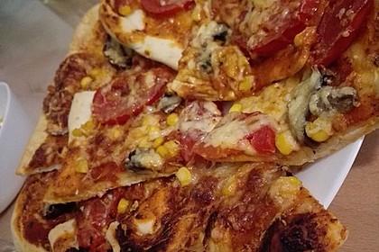 Pizzateig - schnell, einfach & lecker