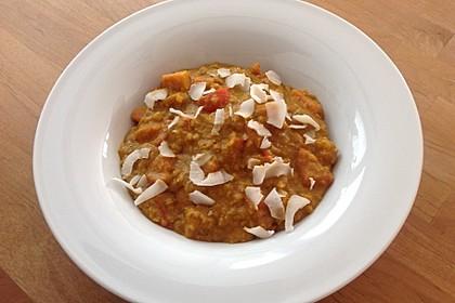 Rote Linsen Curry mit Süßkartoffeln 14