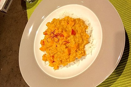 Rote Linsen Curry mit Süßkartoffeln 21