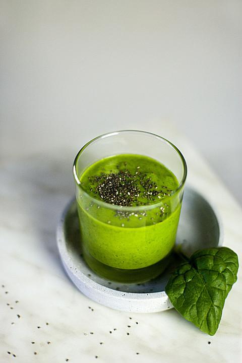avocado spinat smoothie rezept mit bild von wiktorija. Black Bedroom Furniture Sets. Home Design Ideas