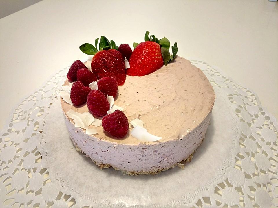 cremige erdbeer joghurt torte ohne zucker von zebra15. Black Bedroom Furniture Sets. Home Design Ideas