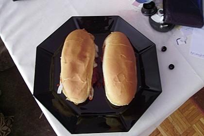 Amerikanische McRib Sandwiches 1