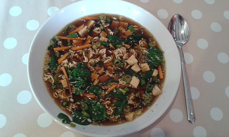 asiatische tofu suppe rezepte. Black Bedroom Furniture Sets. Home Design Ideas