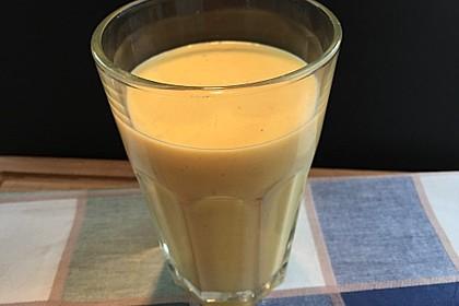 Gelber Smoothie Kurkuma-Mango 4