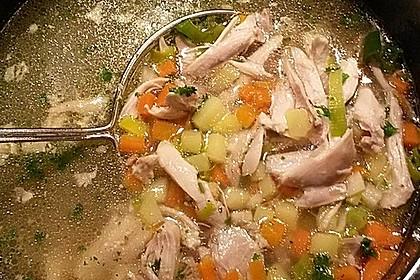 Ninis Hühnersuppe aus dem Schnellkochtopf