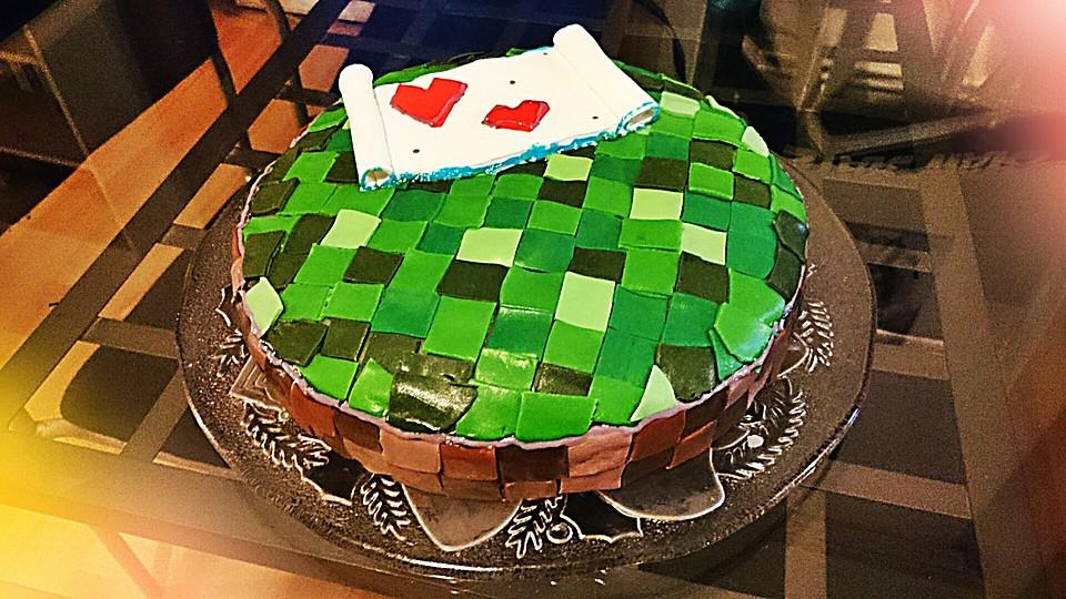 Minecraft Kuchen Craften Zuhause Image Idee