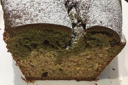 Matcha-Rühr-Kuchen