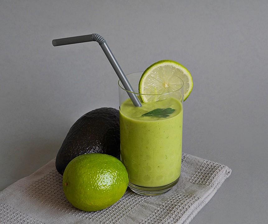 ananas avocado smoothie mit petersilie rezept mit bild. Black Bedroom Furniture Sets. Home Design Ideas