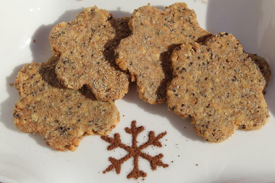 Dinkel chia kekse rezept