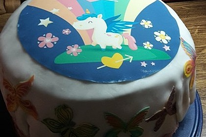 Regenbogentorte – Rainbow cake 56
