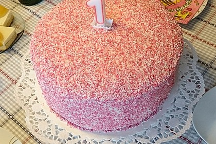 Regenbogentorte – Rainbow cake 22