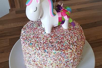 Regenbogentorte – Rainbow cake 6