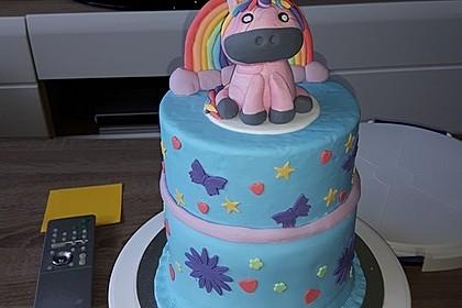 Regenbogentorte – Rainbow cake 4