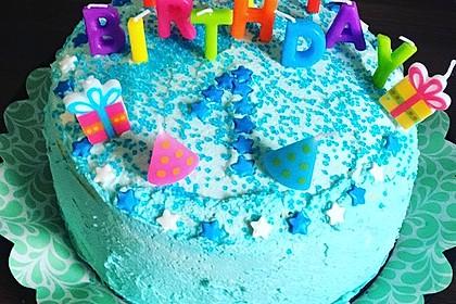 Regenbogentorte – Rainbow cake 21