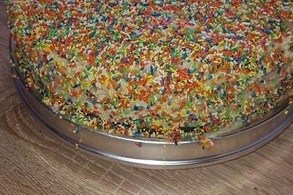 Regenbogentorte – Rainbow cake 52