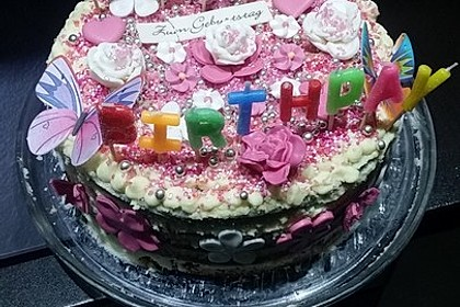 Regenbogentorte – Rainbow cake 30