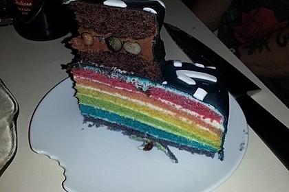 Regenbogentorte – Rainbow cake 51
