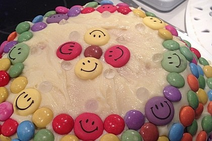 Regenbogentorte – Rainbow cake 20