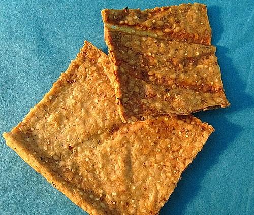 kn ckebrot aus quinoa rezept mit bild von elsaster. Black Bedroom Furniture Sets. Home Design Ideas