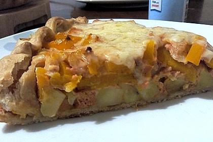 Kartoffel-Paprika-Quiche