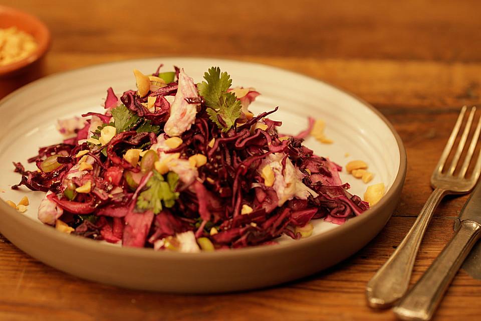 h hnchen kraut salat rezept mit bild von chefkoch video. Black Bedroom Furniture Sets. Home Design Ideas