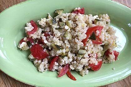Mediterraner Salat mit Feta