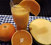 Ananas-Orange-Mango Smoothie
