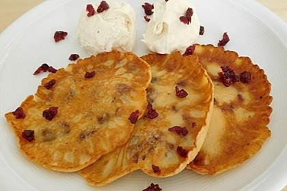 Buttermilch-Cranberry-Pancakes (Bild)