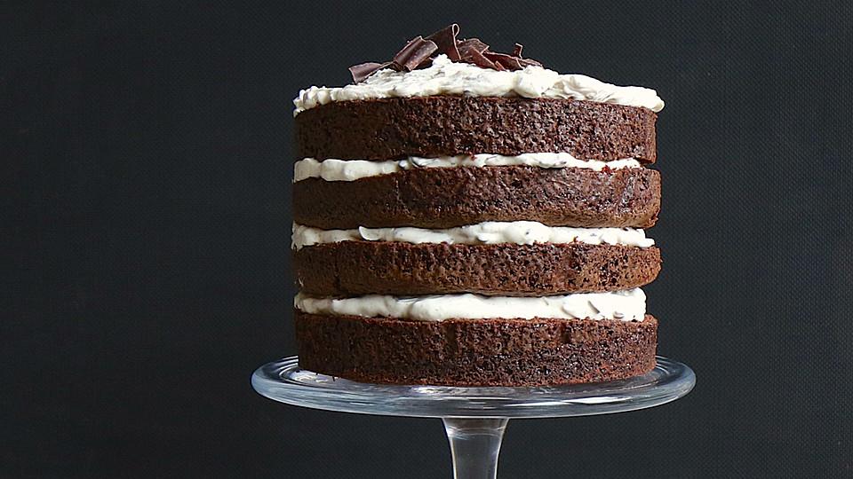 naked chocolate cake rezept mit bild von mrsflury. Black Bedroom Furniture Sets. Home Design Ideas