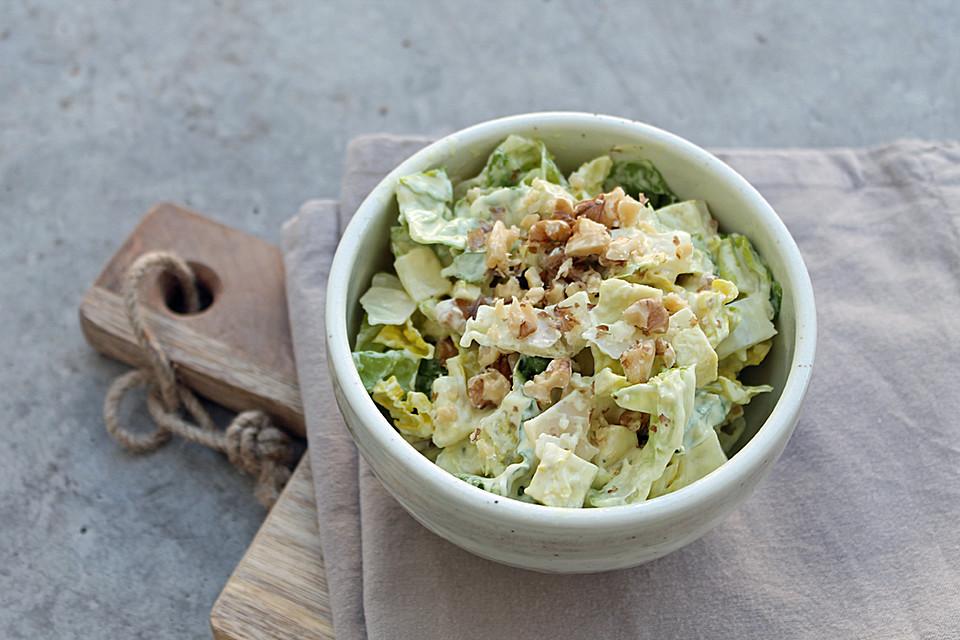 caesar 39 s salad mit joghurtdressing rezept mit bild. Black Bedroom Furniture Sets. Home Design Ideas