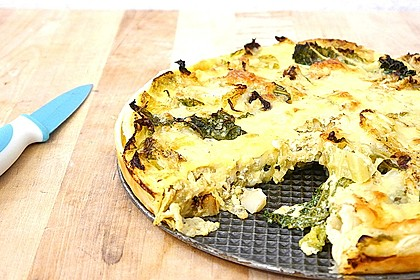 Parmesan Wirsing-Quiche
