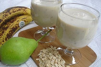 Birnen-Bananen-Smoothie