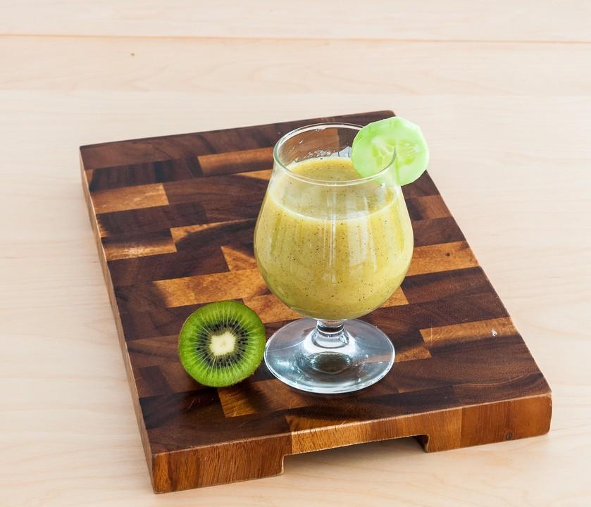 kiwi gurken smoothie rezept mit bild von biene2107. Black Bedroom Furniture Sets. Home Design Ideas
