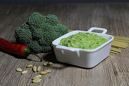 Brokkoli-Basilikum-Pesto