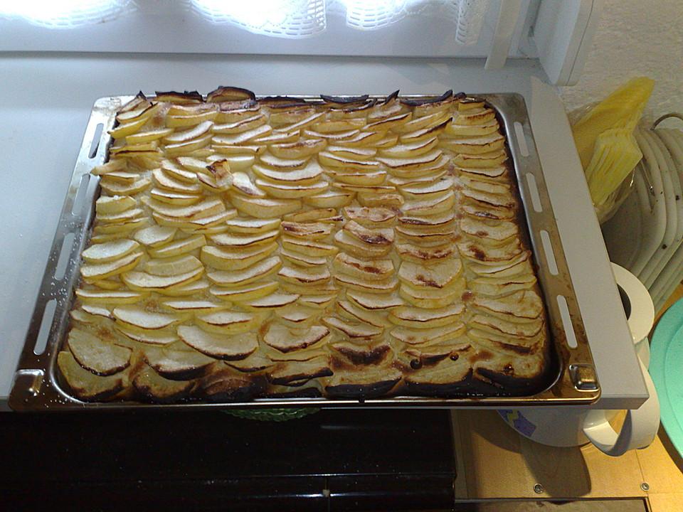 Apfelkuchen hefeteig einfrieren