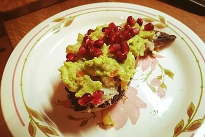 Süßkartoffeln mit Avocado und Granatapfel 34
